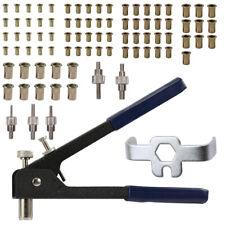 86PCS Threaded Kit Rivet Nut Setter Hand Blind Riveter RivNut Riveting Tool N4Q2
