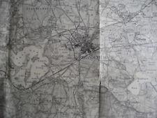 Brandenburg an der Havel Landkarte 292 Zachow Lehnin Golzow Wollin Pritzerbe