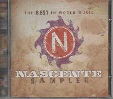 Nascente Sampler The Best World Music CD NEU Ladysmith Black Mambazo Tania Maria
