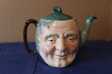 More details for vintage sandland ware darby & joan hand painted tea pot - lid repaired