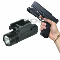Tactical Gun Flashlight Handgun Torch Light For Glock 17 19 18C Pistol
