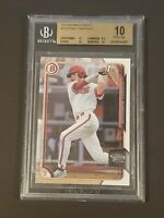 2015 Bowman Draft Dansby Swanson Rookie BGS 10 Pristine Red Hot!!!!!