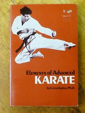 Elements of Advanced Karate by Lester Ingber (Paperback, 1985)