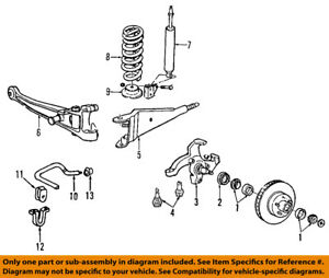 FORD OEM 92-02 E-150 Econoline Club Wagon Front-Ball Joints 5C2Z3050B