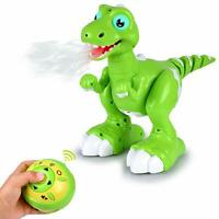 Abco Tech Remote Control RC Robot Dinosaur Toy Smart Sensing Girls Boys Kids