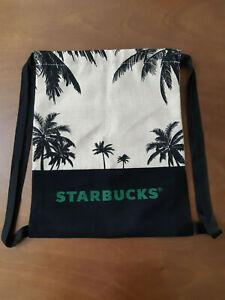 Starbucks Malaysia Canvas Jute Drawstring Bag