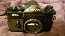 Canon F-1 F1 35mm Film SLR Manual Camera Body