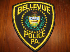 BELLEVUE PENNSYLVANIA POLICE PATCH