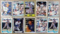 Robin Yount Milwaukee Brewers 10ct Card Lot