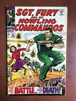 Sgt. Fury #55 (1968) 6.0 FN Marvel Key Issue Silver Age Comic Book Stan Lee