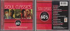 SOUL CLASSICS Best of the 60s Rebound 1997 CD Lonely Teardrops Jackie Wilson