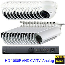 24Channel 1080P TVI DVR 16) 4-in-1 OSD AHD TVI 2.6MP CCTV Security Camera System