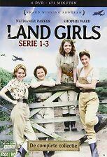 LAND GIRLS - THE COMPLETE SERIES  1 2 & 3 Box Set   -  DVD - PAL Region 2 - New