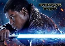 John Boyega Daisy Ridley - Star Wars The Force Awakens - Polish promo POSTER