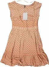 NAFNAF Damen Umstandsmode Kleid Rnr122d Gr. 38 rosa (0185 Rose Camay)