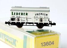 Minitrix 13604 Bierwagen Lederer Premium der DB