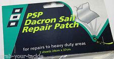 Dacron Sail Repair Tape Windsurfing Kite Sailboard Repair Tape White 24cmx37cm