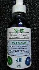 New listing Richard's Organics Pet Calm - Naturally Relieves Stress and Anxiety in Dogs Cats