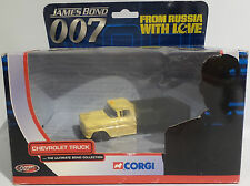 JAMES BOND : CHEVROLET TRUCK DIE CAST MODEL MADE BY CORGI IN 2002