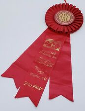 Akc Dog Show Basenji Club of America Freeley, Co 2010 Red Ribbon 2nd Prize