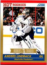 ANDERS LINDBACK 2010-11 Score Rookies and Traded Gold #603 ($0.75 MAX SHIP)