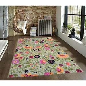 6x4 feet Vintage Aubusson Rug,Needlepoint Wool Rug, Hand Knotted rug,13256