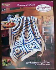 Needlecraft Shop Afghan Collector's Series Country at Heart Antique Roses Design
