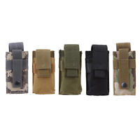 Outdoor Bag Torch Case Flashlight Pouch Portable Small Camouflage Molle Bags BB
