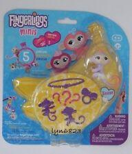 NEW Fingerlings Minis 3 mini figures Charm + Bracelet ~ Reese ~ Series 1