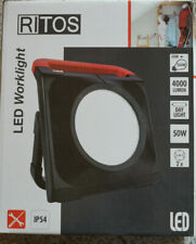 Ritos LED Worklight Arbeitslicht rot/schwarz IP54