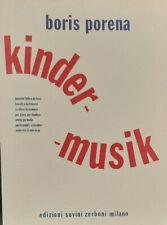 PORENA - Kinder-musik  - ed Suvini Zerboni