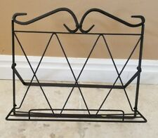 Metal Wire Cook Book Stand/holder Black Scroll Design Kitchen New in box
