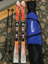 New listing Nordica Skis-Grandsport S8 171cm,Marker bindings,Scott Polls, transport Bag Nice