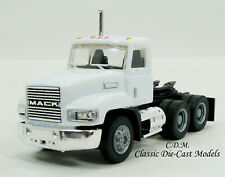 Mack 603 Day Cab White Short Tandem Axle HO 1/87 Scale Herpa/Promotex 15263