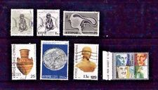 CYPRUS - SEVEN USED STAMPS - VERY GOOD CONDITION