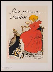 Original Lithograph by T. A. Steinlen from Les Maitres de L'Affiche, Plate 95.