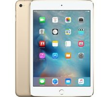 "Apple iPad Mini 4 7.9"" Apple iOS Dorado 128gb Tableta, Bluetooth y Cámara"