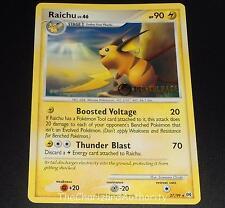 Raichu 27/99 PRERELEASE Platinum Arceus Set PROMO Pokemon Card NEAR MINT