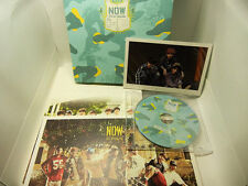 USED NOW 'BTS IN THAILAND 2014 DVD PhotoBook PostCard Mini Poster Set