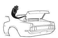 Mustang Trunk Weatherstrip All Body Styles 1971 1972 1973 - Daniel Carpenter