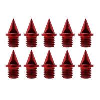 10 Stück Schuhspikes Ersatz Spikes Steigeisen für Outdoor Bergschuhe 13.8mm