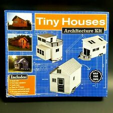 Tiny Houses Floor Plan Architecture Kit by Publications International, Ltd. New