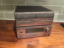 Denon D-65 Compenent Ribbon Linked Mini Hifi Seperates Tape Deck Amplifier Tuner