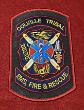 COLVILLE TRIBAL EMS, FIRE & RESCUE DEPT STEVENS COUNTY WASHINGTON WA PATCH