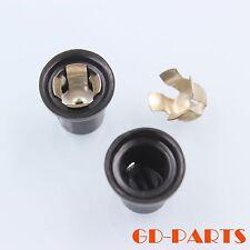 Black bakelite Mini vacuum tube anode plate caps Fr 6Z18,Ef37 Vintage look 2Pcs