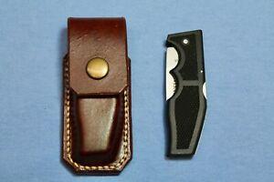Gerber Knife 500 Magnum LST Jr. & OPSEC-C-C Brown Leather Sheath