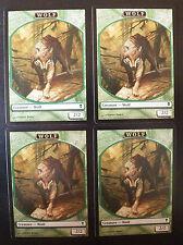 4x Wolf Token - Card n° 11/11 - Zendikar