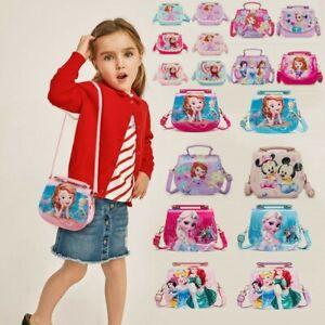Disney Baby Kid Child Girl Princess Bag Handbag Hand Shoulder Messenger Toy Bag