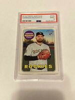 2018 Topps Heritage Harrison Musgrave RC #594 PSA 9 MINT