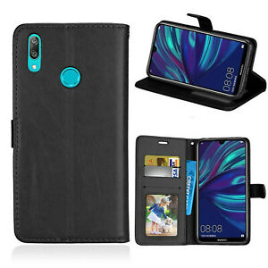 For All Huawei Mobile Phones Leather Wallet Flip Stand Slim Luxury Case Cover Uk